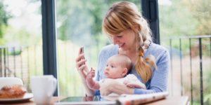 App per le mamme: la tecnologia ti da una mano