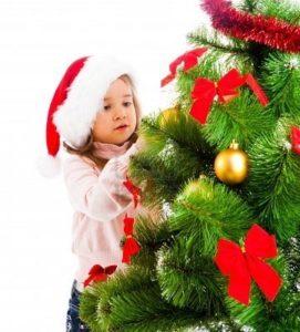 Albero di Natale sicuro per i bambini
