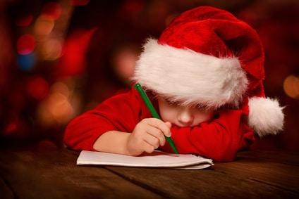 Come scrivere la lettera a Babbo Natale con i vostri figli