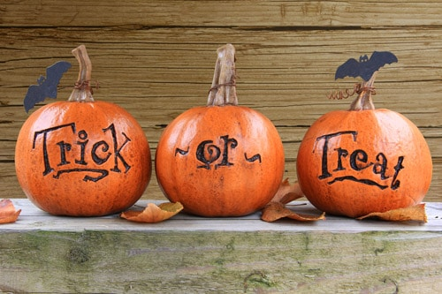 Trick or treat con i bambini
