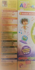 valori educazionali 149x300 - Natale con Lisciani Giochi Astronave ABC e Tavolino Molto Attivo 30 Giochi