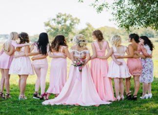 Rosa per un matrimonio romantico
