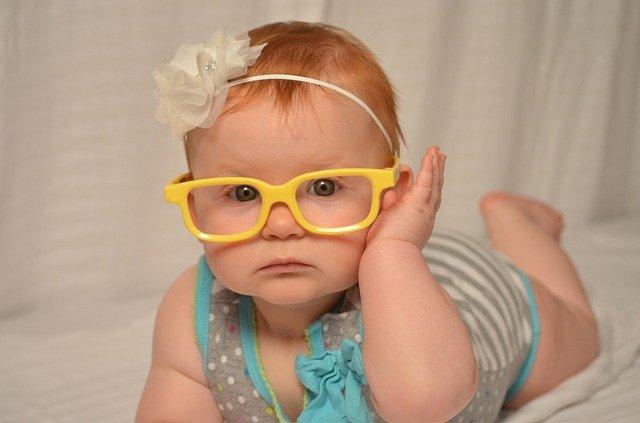 baby 204185 640 - Quando controllare la vista ai bambini e sostituire le lenti degli occhiali