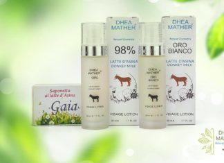 latte d'asina proprietà cosmetiche e benefici per la pelle