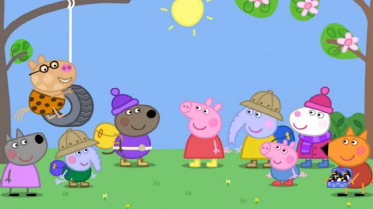 Peppa Pig Babbo Natale Da Colorare.Peppa Pig Disegni Da Colorare E Storia Del Cartone Animato Mamma Naturale