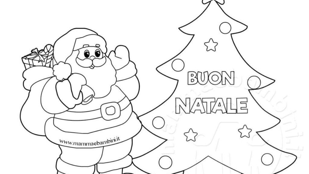 Disegni Di Palline Di Natale Da Stampare E Colorare.Disegni Babbo Natale Da Colorare